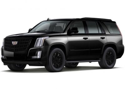 2016 Cadillac Escalade Black Wheels and Trim