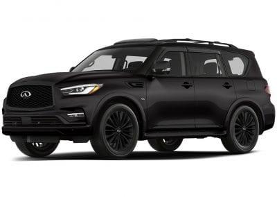 2018 Infinity Qx80 Black Obsidian wheels and Trim