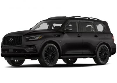 2018 Infinity Qx80 Blacked out Wheels
