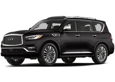 2018 Infinity Qx80 Body Color Black Obsidian