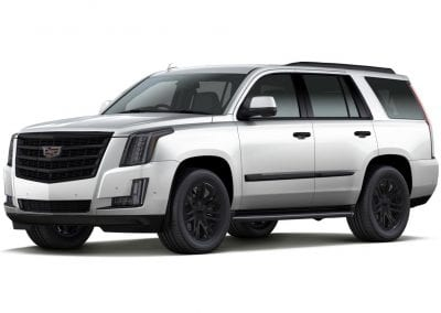 2016 Cadillac Escalade Crystal White with Black Wheels and Trim