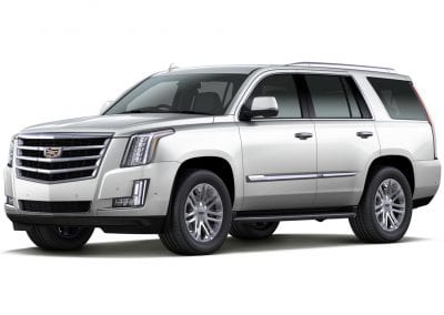 2016 Cadillac Escalade Body Color Crystal White