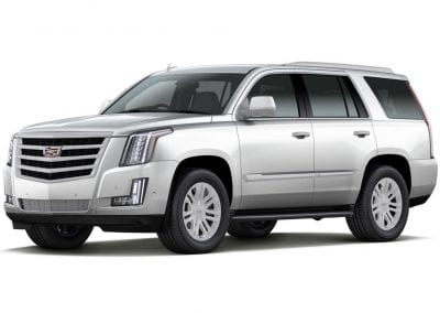 2016 Cadillac Escalade Crystal White Wheels and Trim