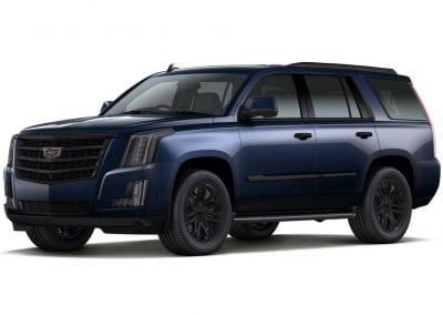 2016 Cadillac Escalade Dark Adriatic Blue with Wheels and Trim
