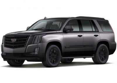 2016 Cadillac Escalade Dark Granite with Black Wheels and Trim
