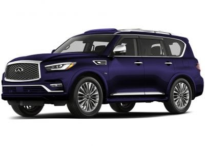 2018 Infinity Qx80 Body Color Hermosa Blue