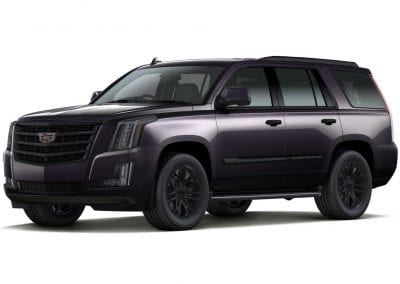 2016 Cadillac Escalade Midnight Sky with Black Wheels and Trim