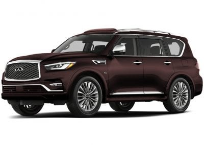 2018 Infinity Qx80 Body Color Mocha Almond