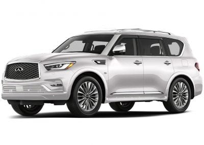 2018 Infinity Qx80 Body Color Moonstone White