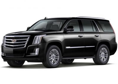 2016 Cadillac Escalade Body Color Black