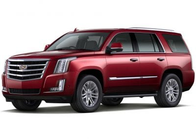 2016 Cadillac Escalade Body Color Red Passion