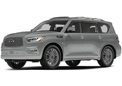 2018 Infinity Qx80 with Same Body Accents and Wheels