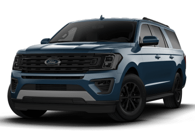 2018 Ford Expedition Blue with Black Wheels and Trim