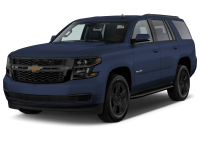 2018 Chevrolet Tahoe Blue Velvet with Black Wheels and Trim