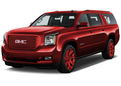 2016 GMC Yukon Crimson Red Wheels and Trim