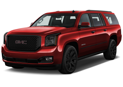 2016 GMC Yukon Crimson Red with Black Wheels and Trim