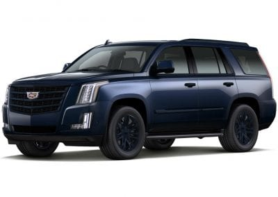2016 Cadillac Escalade Dark Adriatic Blue Wheels and Trim