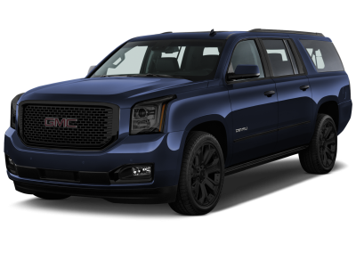 2016 GMC Yukon Dark Sapphire with Black Wheels and Trim
