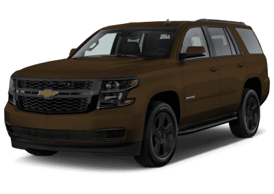 2018 Chevrolet Tahoe Havana with Black Wheels and Trim