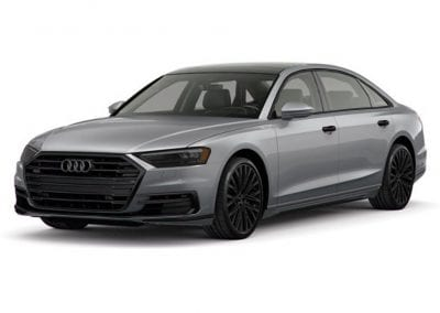 2018 Audi A8 Monsoon Gray with Black Wheels and Trim