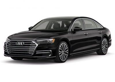 2018 Audi A8 Body Color Black