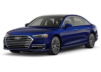 2018 Audi A8 Body Color Blue