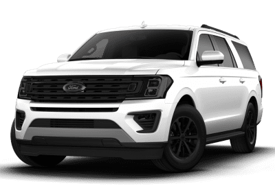 2018 Ford Expedition Oxford White with Black Wheels and Trim