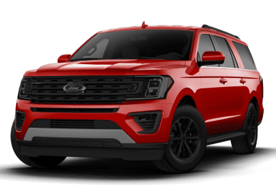 2018 Ford Expedition Ruby Red with Black Wheels and Trim