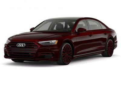 2018 Audi A8 Seville Red Wheels and Trim