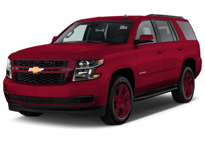 2018 Chevrolet Tahoe Siren Red Wheels and Trim