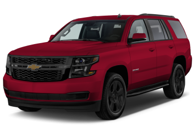2018 Chevrolet Tahoe Siren Red with Black Wheels and Trim