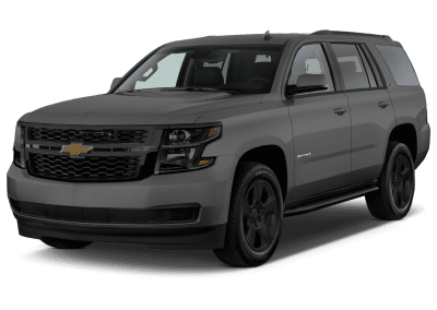 2018 Chevrolet Tahoe With Black Wheels and Trim