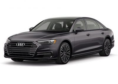 2018 Audi A8 Vesuvius Gray Wheels and Trim
