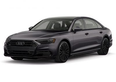 2018 Audi A8 Vesuvius Gray with Black Wheels and Trim