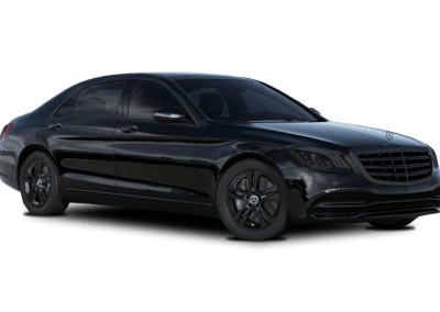 2018 Mercedes-Benz S Class Black with Black Wheels and Trim