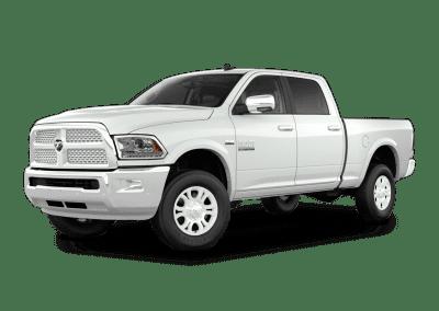 2018 Dodge Ram Bright White Wheels and Trim
