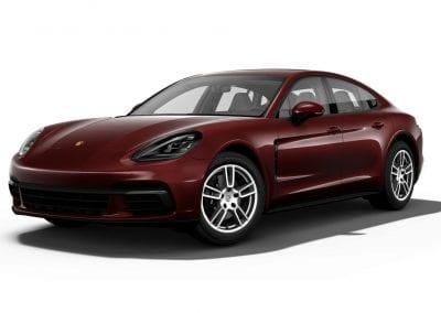 2018 Porsche Panamera Burgundy Red
