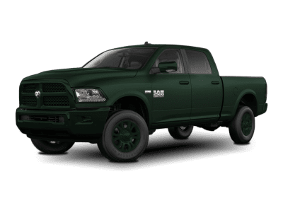 2018 Dodge Ram Dark Green Wheels and Trim