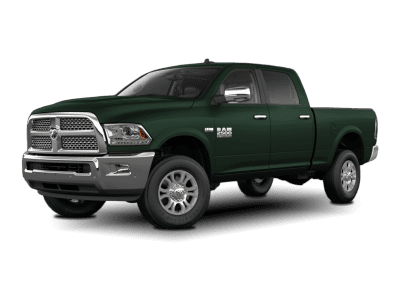 2018 Dodge Ram Body Color Dark Green