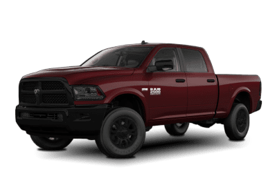 2018 Dodge Ram Delmonico Red with Black Wheels and Trim