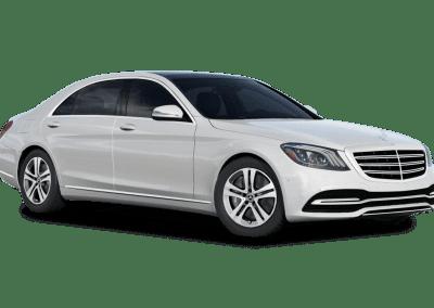 2018 Mercedes-Benz S Class Diamond White Wheels and Trim