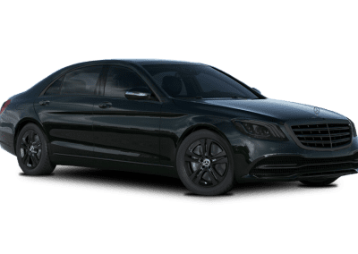 2018 Mercedes-Benz S Class Emerald Green with Black Wheels and Trim