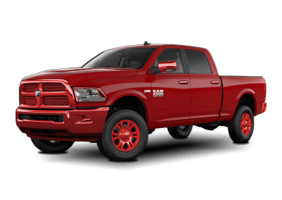 2018 Dodge Ram Flame Red Wheels and Trim