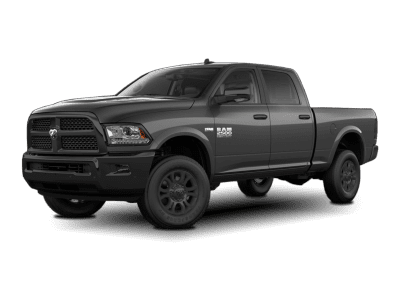 2018 Dodge Ram with Same Body Accents and Wheels