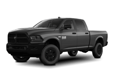 2018 Dodge Ram Granite Crystal with Black Wheels and Trim