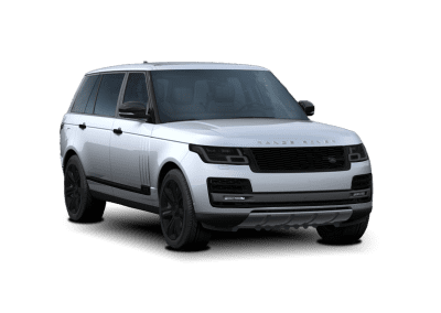 2018 Range Rover Indus Silver with Black Wheels and Trim