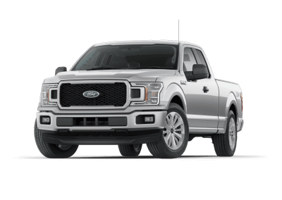 2018 Ford F150 Ingot Silver Wheels and Trim
