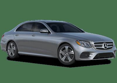 2018 Mercedes-Benz E Class Body Color Iridium Silver