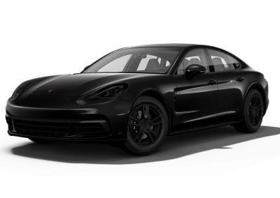 2018 Porsche Panamera Blacked out Wheels