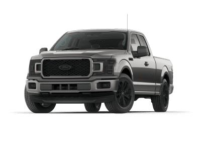 2018 Ford F150 Lead Foot with Black Wheels and Trim